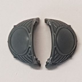 Chaos Space Marine Scarab Terminators Shoulder Pads B